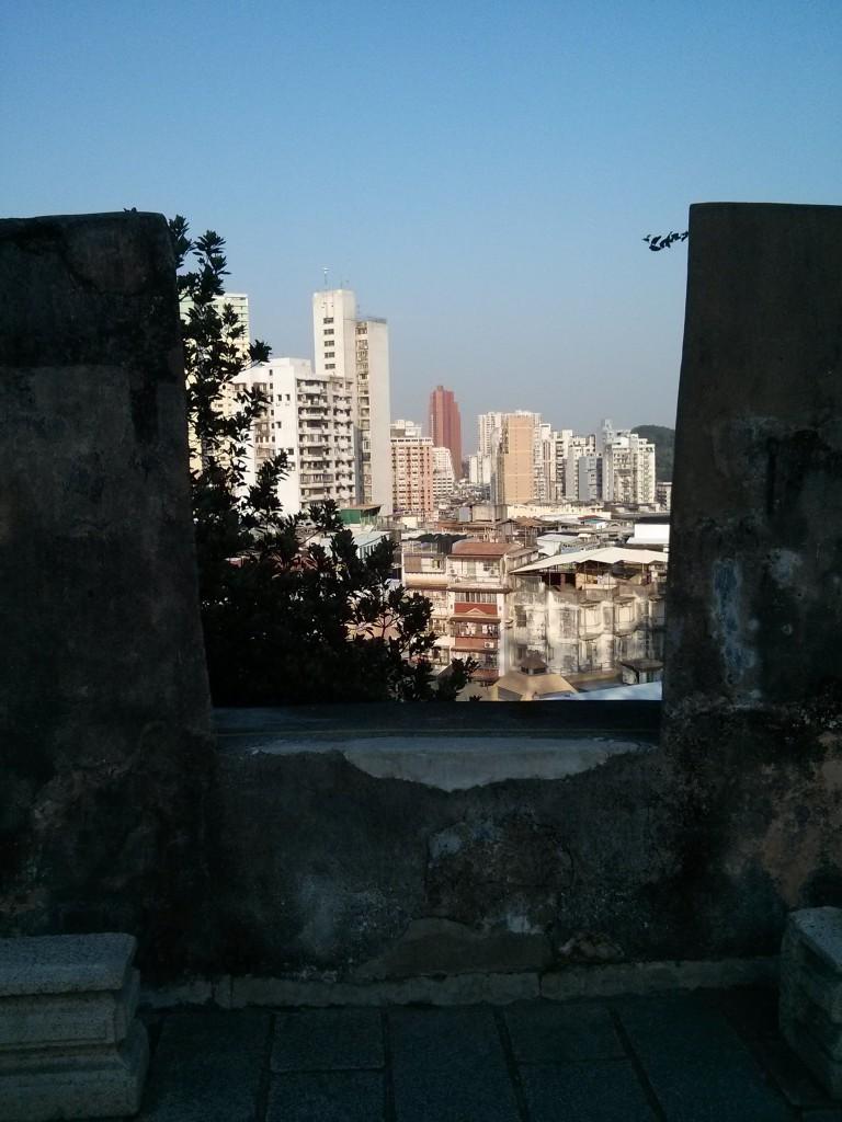 Aussicht auf Macao
