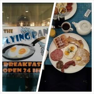 Frühstück im Flying Pan