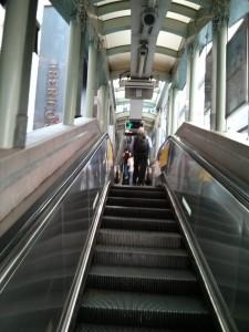 Rolltreppe Hongkong