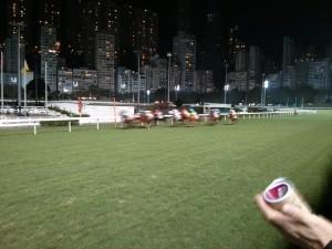Pferderennen im Happy Valley in Hongkong (Reisetagebuch Hongkong: Happy Valley)