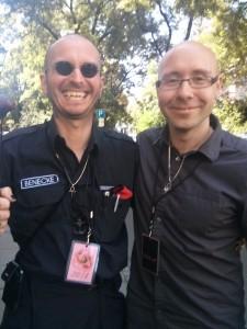 Mark Benecke und ich auf dem WGT