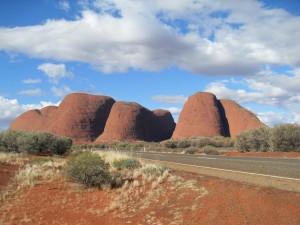 Die Olgas Kata Tjuta in Australien (Reisetagebuch Australien: Sonnenuntergang am Uluru)