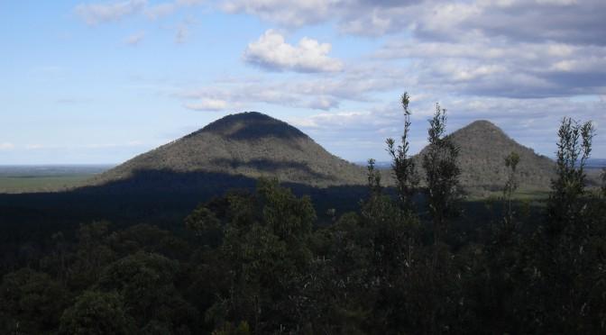 Reisetagebuch Australien: Die Glass House Mountains