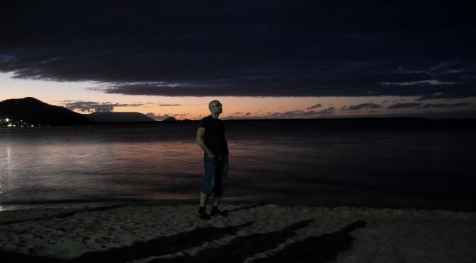 Ich am Strand von Cairns