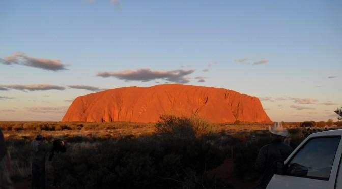 Reisetagebuch Australien: Sonnenuntergang am Uluru