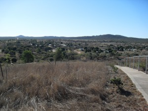 Aussicht vom Viewpoint bei Ravenswood (Reisetagebuch Australien: Die Goldgräberstadt Ravenswood)