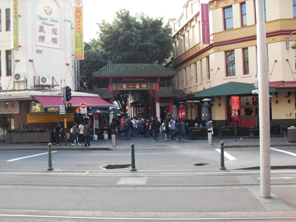 Eingang chinesisches Viertel Sydney