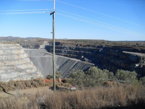 Goldabbau in Ravenswood Australien