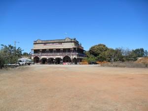 Hotel in Ravenswood Australien (Reisetagebuch Australien: Die Goldgräberstadt Ravenswood)