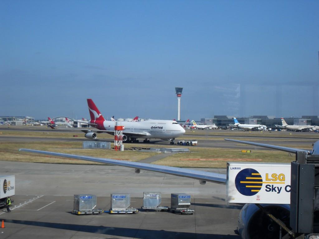Quantas Flugzeug