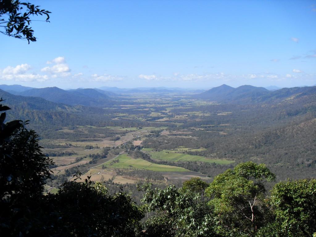 Sky Window im Eungella Nationalpark Australien