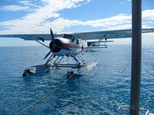 Wasserflugzeug auf dem Wasser