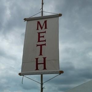 Mera Luna Meth Flagge (Das M'era Luna 2013)