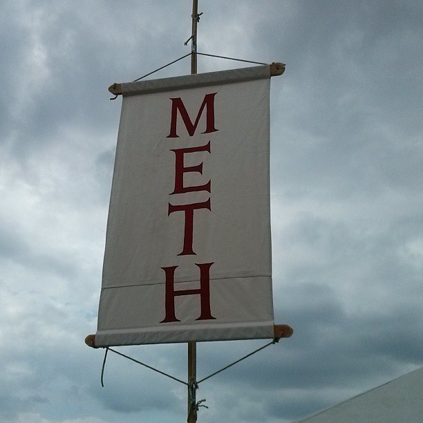 Mera Luna Meth Flagge