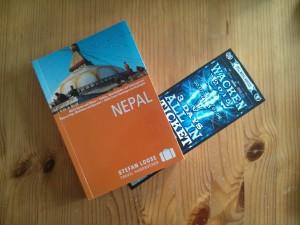 Nepal Buch Wacken Karte