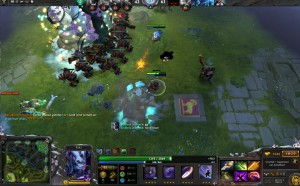 Dota: Mit Riki beim gegnerischen Ancient kurz vor dem Sieg
