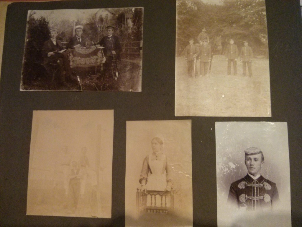 Familiengeschichte historische Bilder Photoalbum