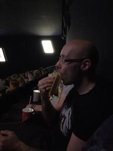 Stilecht mit Banana im Minions Film