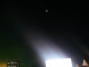 Drohne am Nachthimmel Wacken Open Air 2015 (50 Shades of Schlamm – Wacken Open Air 2015 W:O:A)