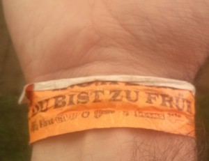 Du bist zu frueh Wacken Open Air 2015