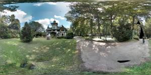 360 Grad Panorama Bild von Schloss Heinrichshorst
