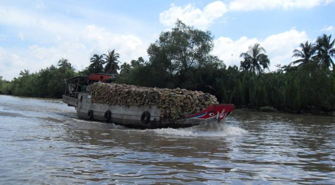 Reisetagebuch Vietnam: Mit Booten auf dem Mekong-Delta