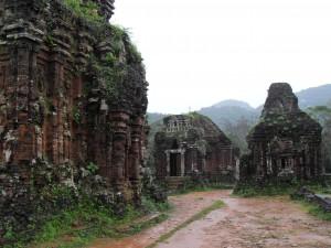 Ruinen der Cham Tempelanlage My Son