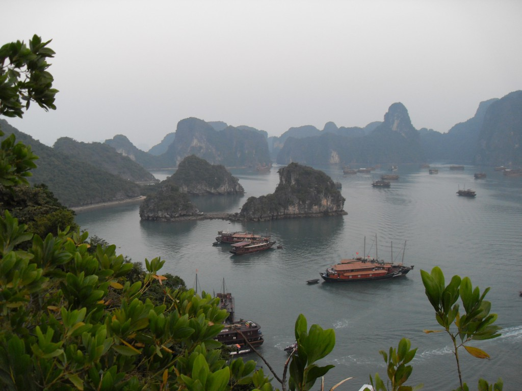 In der Ha Long Bucht in Vietnam