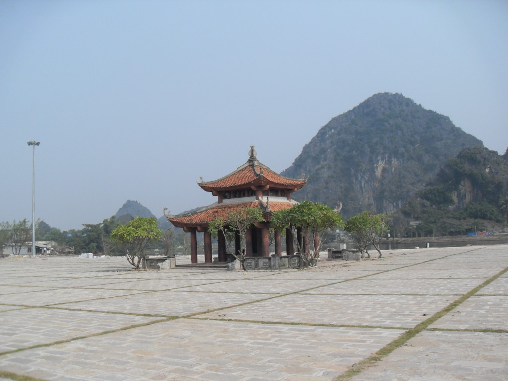 Kleiner Tempel in Hoa Lu in Vietnam