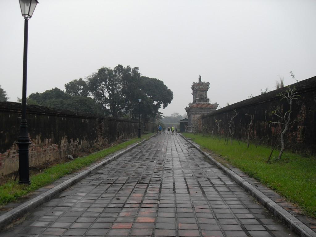 In der Kaiserstadt in Hue Vietnam