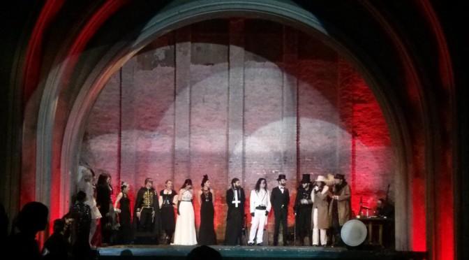 Vampir Kostüm Wettbewerb bei der Endless Night 2015 in Berlin