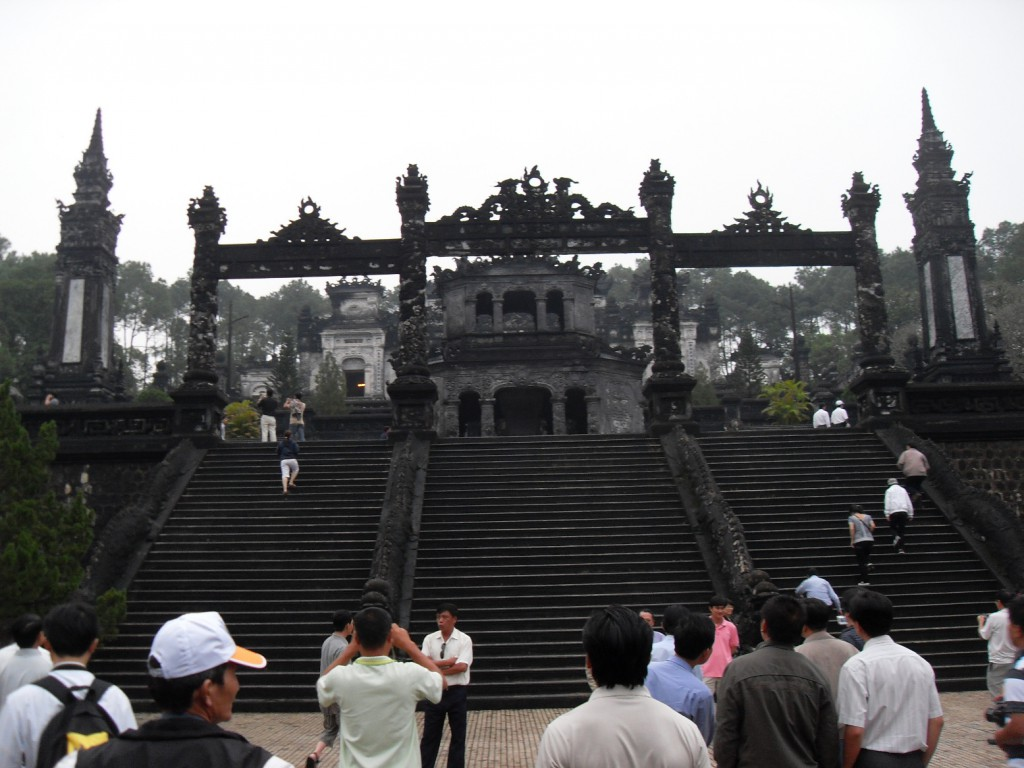 Lang Khai Dinh in Hue in Vietnam