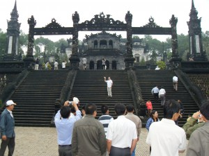 Lang Khai Dinh in Hue in Vietnam (Reisetagebuch Vietnam: Die Kaiserstadt in Hue)