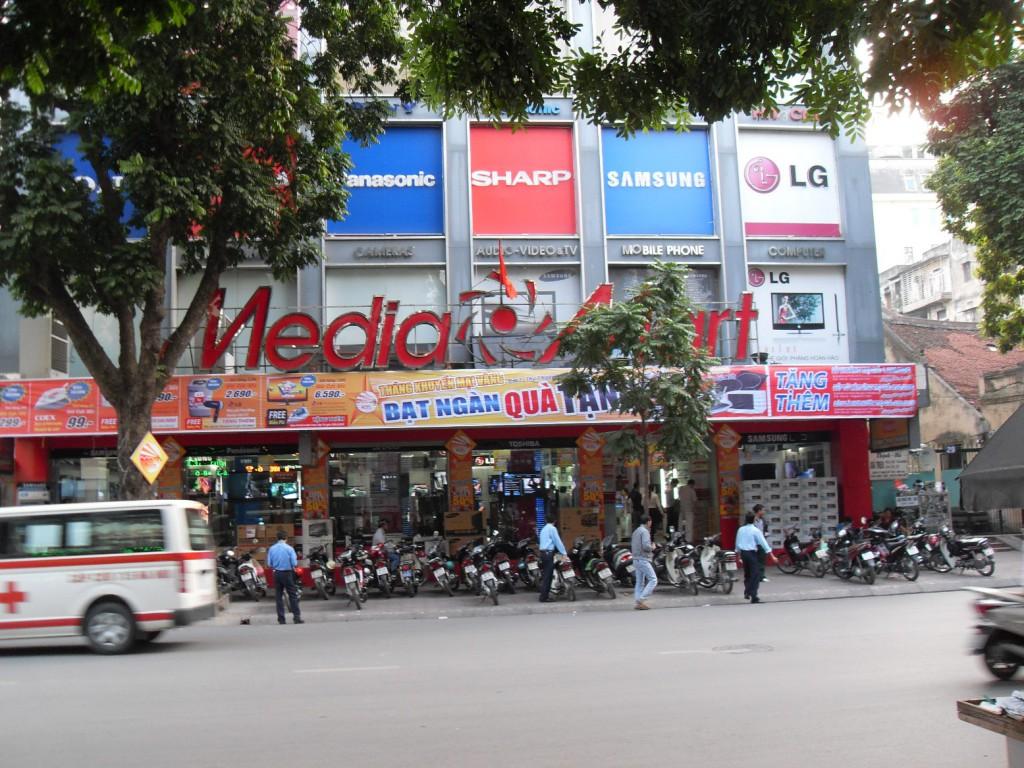 Der Media Mart in Hanoi Vietnam