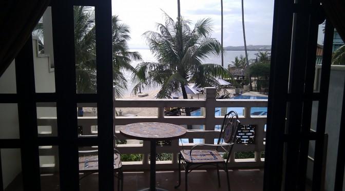 Aussicht aufs Meer Mui Ne Dynasty Resort Vietnam