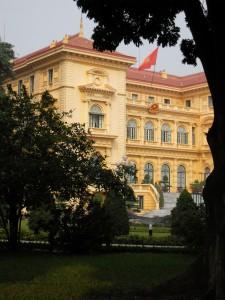 Praesidentenpalast in Hanoi Vietnam