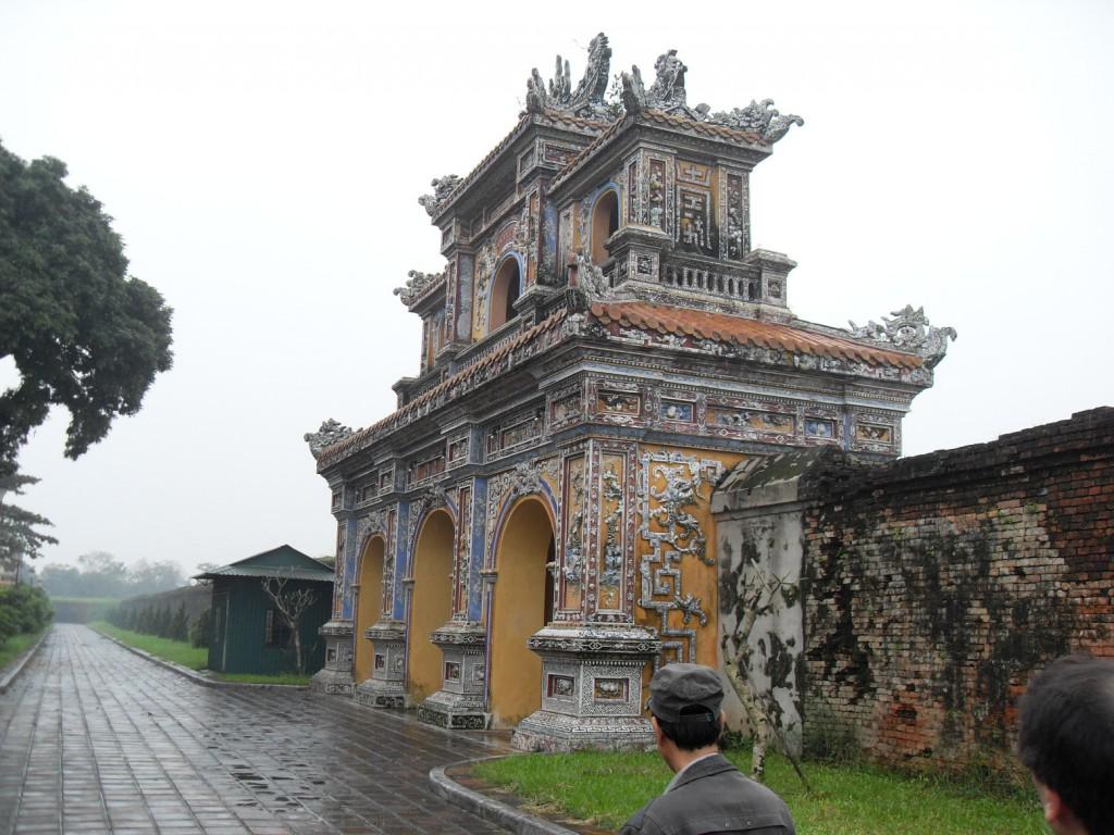 Tor in der Kaiserstadt Hue Vietnam