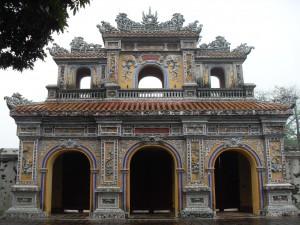 Koenigspalast in Hue in Vietnam (Meine Reise nach Vietnam)