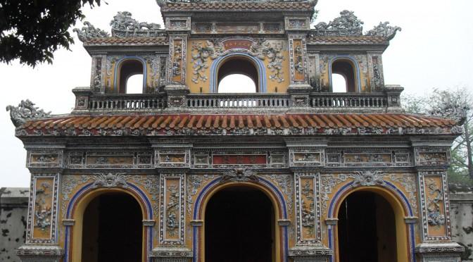 Koenigspalast in Hue in Vietnam
