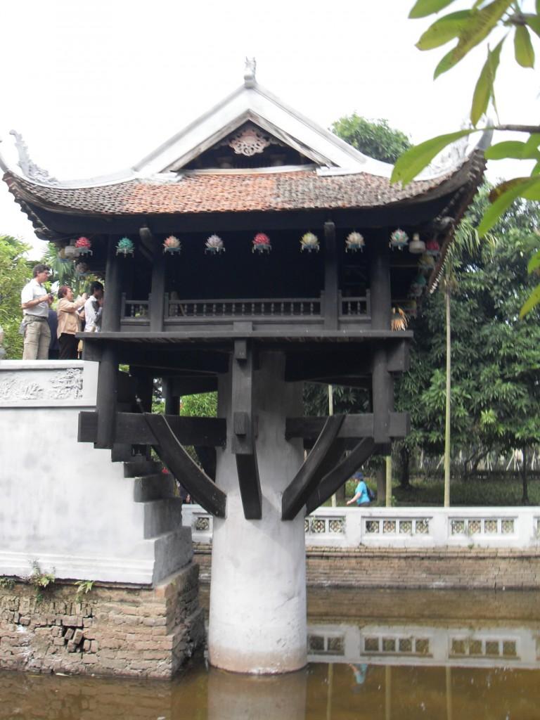 Pagode in Hanoi Vietnam