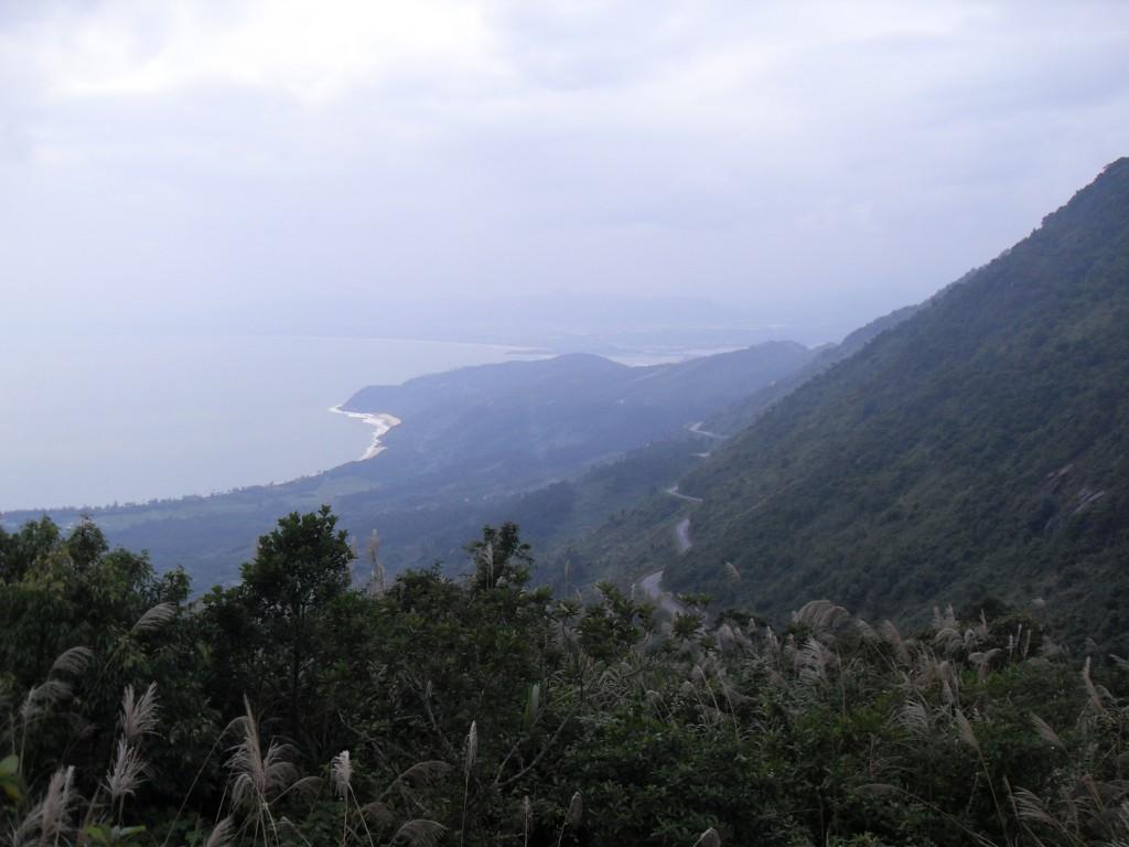 Der Wolken-Pass oder Hai-Van-Pass in Vietnam