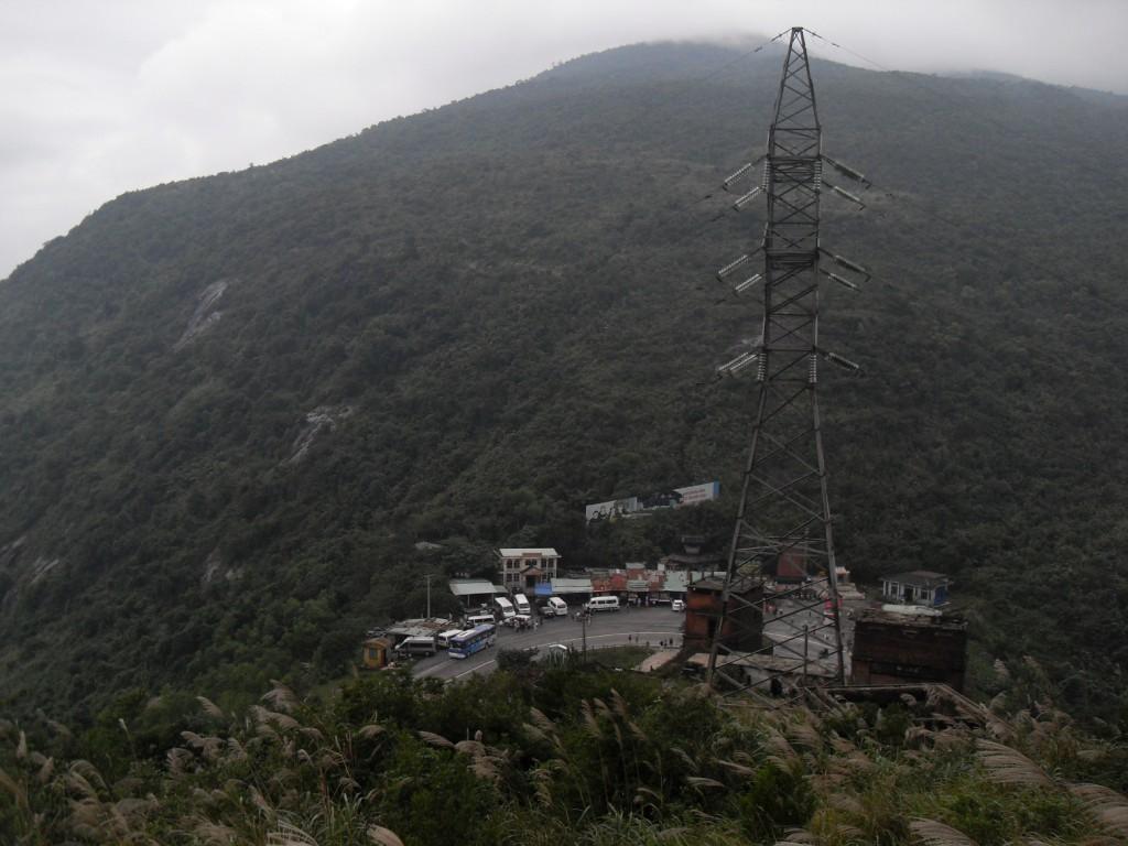 Rastplatz auf der Spitze des Wolken-Passes bzw. Hai-Van-Passes in Vietnam