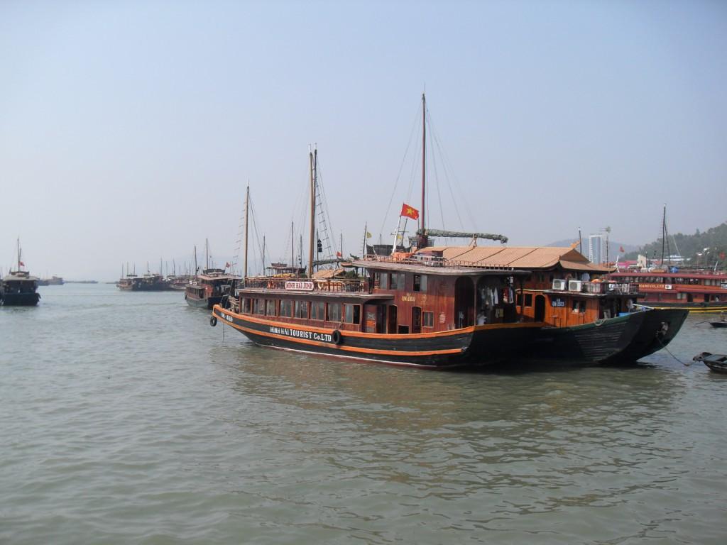 Vietnamesische Dschunke
