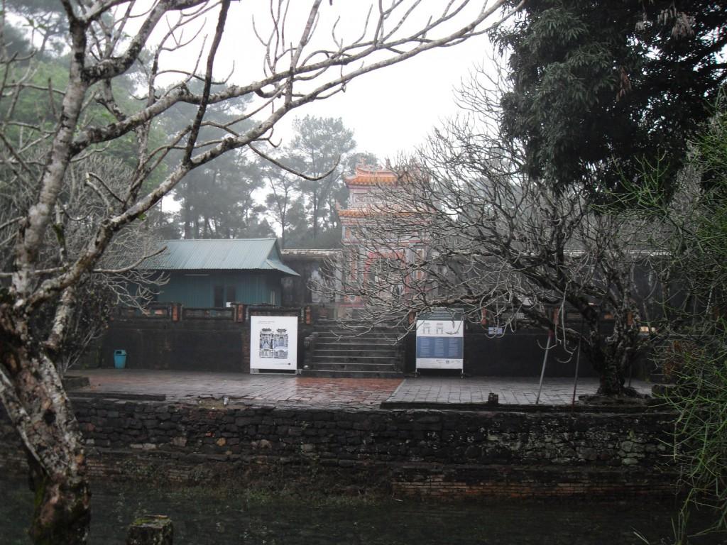 Das Grabmal von Tu Duc in Hue in Vietnam - Lang Tu Duc