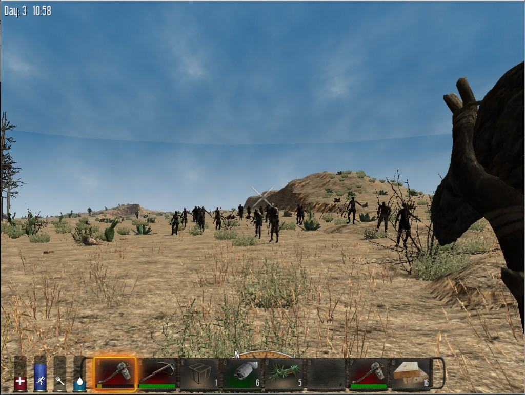 7 Days to Die Zombie Hordes