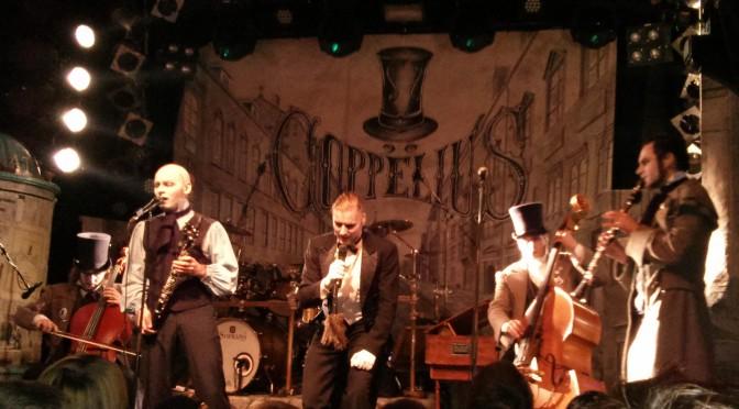 Coppelius auf Tour im Knust in Hamburg