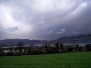Aussicht vom Viewpoint Aghadoe Heights (Killarney und die Viewpoints Aghadoe Heights und Ladies View)