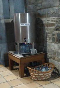 Boiler mit Weihwasser in der St. Marys Cathedral
