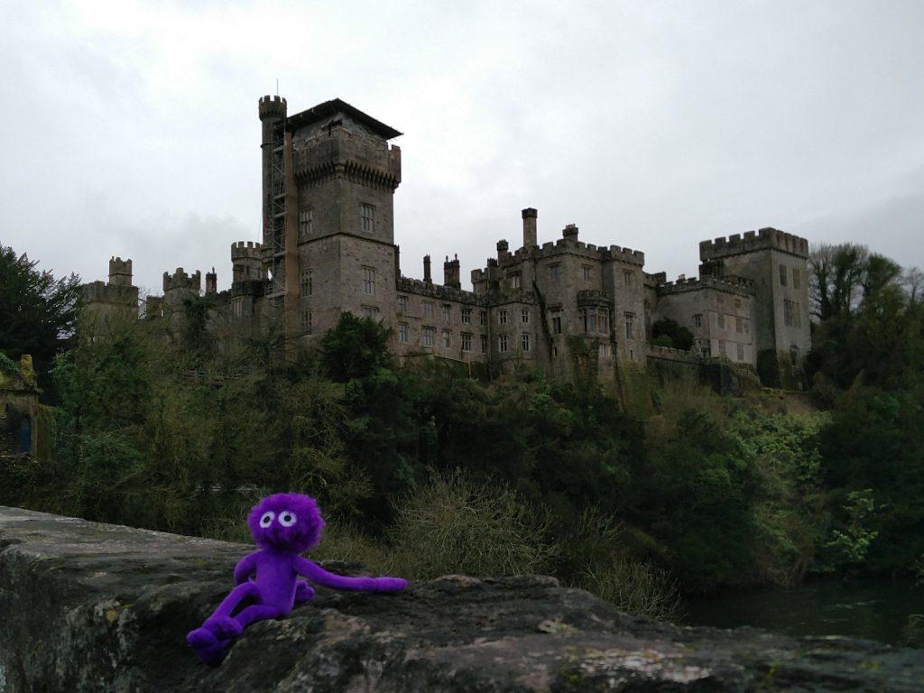 Die Burg Lismore Castle mit Knoten-Knut