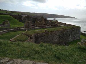 Charles Fort bei Kinsale (Der Steinkreis von Drombeg, Charles Fort und Mizen Head)